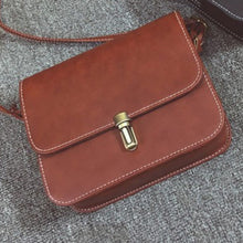 Load image into Gallery viewer, Shell Women Messenger Bags Women Crossbody Bags Satchel Small Square Leather Mini Female Shoulder Bag Mobile Phone Packet Bolsa