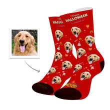 Load image into Gallery viewer, Dog Custom Face Socks