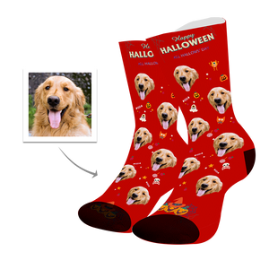Dog Custom Face Socks