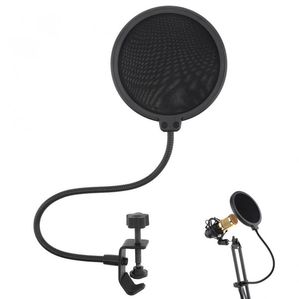 Microphone Pop Filter For Voice Recording Great For Streaming