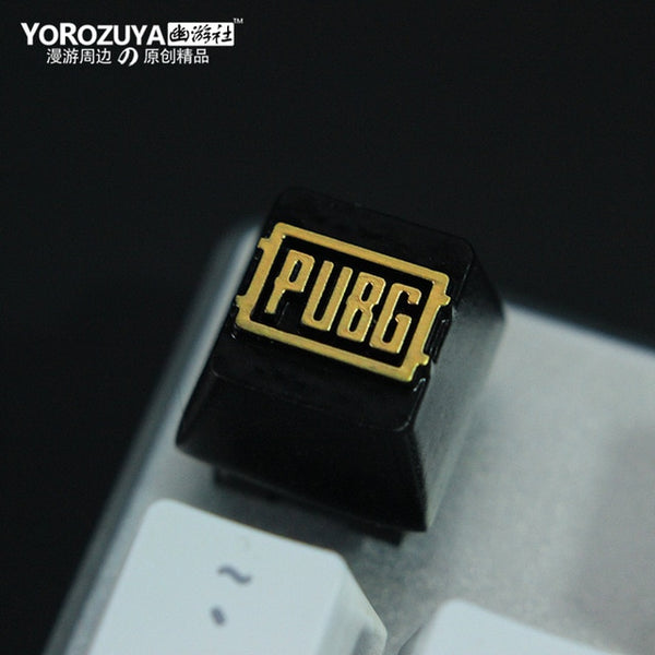 Game Logo Keycap (PUBG, OVERWATCH, CSGO AND MORE)