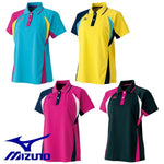 MIZUNO Ladies short sleeve game shirt uniform long silhouette tennis soft tennis badminton wear