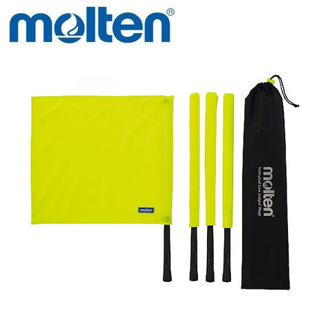 molten linesman flag linesman flag yellow volleyball