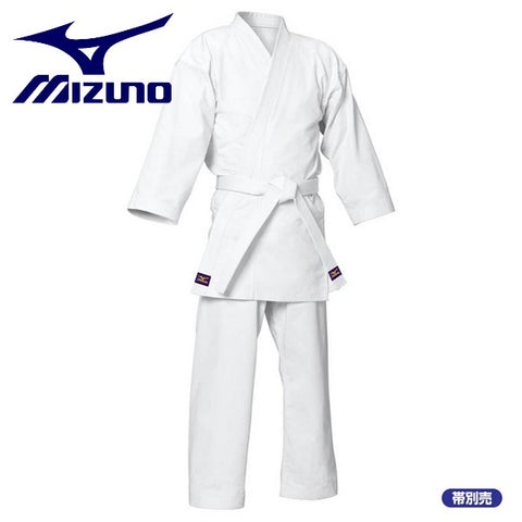 MIZUNO Karate Dogi Dogi Top trousers set Obi sold separately Katsuragiji Twill weave