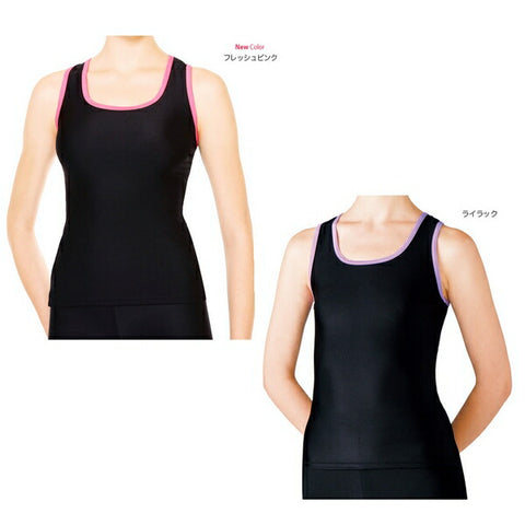 SASAKI Y back long top (without cup pocket) [rhythmic gymnastics wear/rhythmic gymnastics equipment]