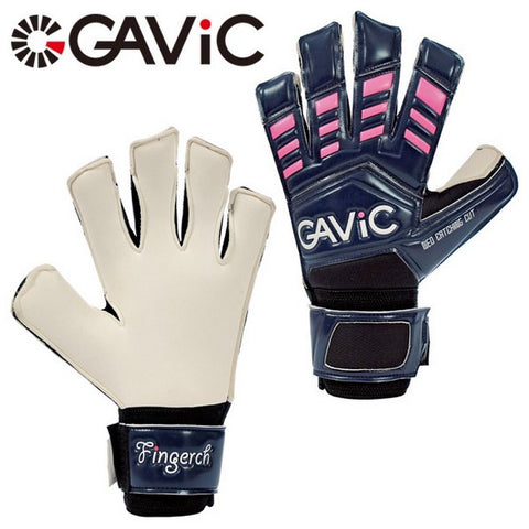 GAVIC finger Chi GK glove navy x pink [Goalkeeper Gloves / soccer goods]