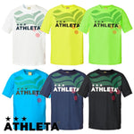 ATHLETA Junior Purashatsu short-sleeved futsal wear soccer