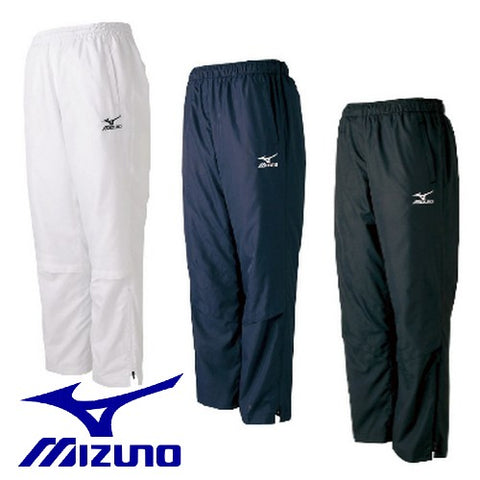 MIZUNO windbreaker pants back mesh tennis soft tennis badminton table tennis wear