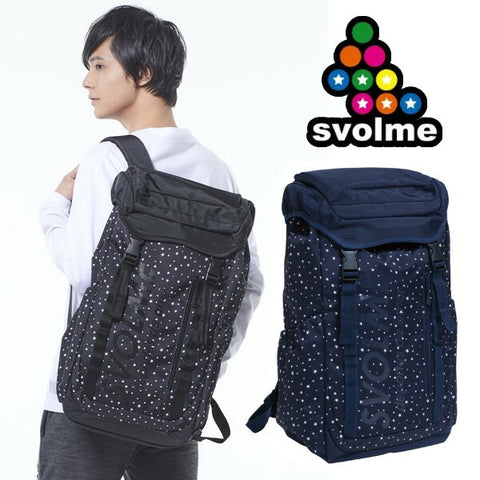 svolme backpack rucksack star pattern futsal Hardware