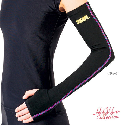 SASAKI Sasaki HOT arm warmer (back brushed) / hot wear collection [rhythmic gymnastics wear / rhythmic gymnastics equipment]