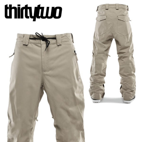 thirtytwo snowboard wear WOODERSON Pants Stone 19/20 32