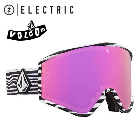 ELECTRIC goggles KLEVELAND VOLCOM CO-LAB Brose Pink Chrome 19/20 snowboard
