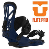 UNION binding FLITE PRO flight professional Navy 19/20 snowboard