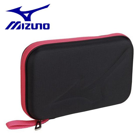 MIZUNO table tennis racket case hard case Square two purse