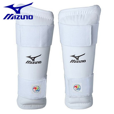 MIZUNO karate shin guards shin guard Japan Karate Federation test product