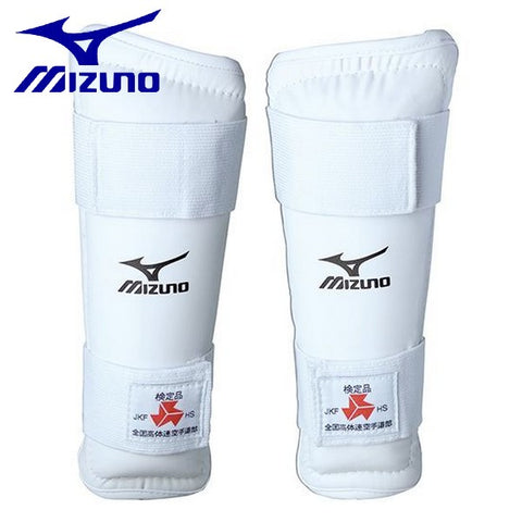 MIZUNO karate shin guards shin guard Kotairen specified goods
