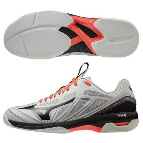 Mizuno tennis shoes Wave Exceed 4-wide CS MIZUNO carpet coat 61GR201103