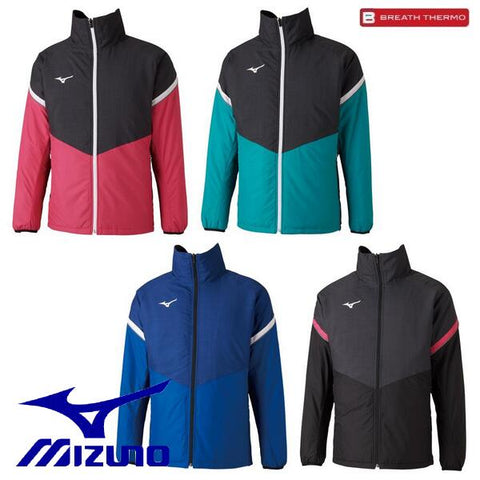 Mizuno windbreaker Breath Thermo batting light warmer shirt MIZUNO tennis soft tennis badminton table tennis wear