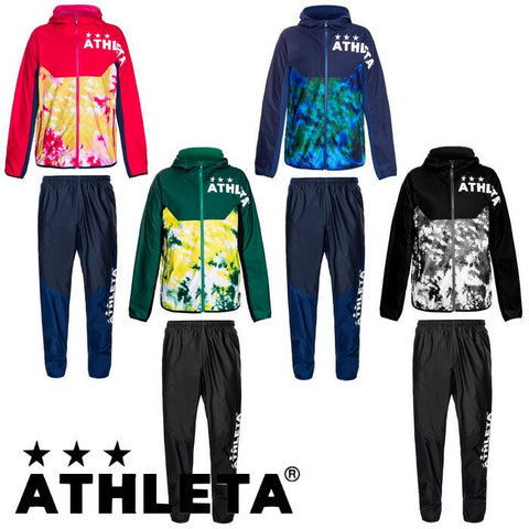Pre-order product ATHLETA stretch training hoodie top and bottom set futsal soccer wear