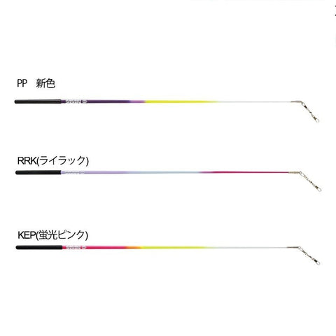 SASAKI Tricolor Stick Certified Product [Rhythmic Gymnastics Stick/Rhythmic Gymnastics Equipment]