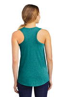 - Ladies Tank Top Racerback | Mavericks Football | Heathered Teal