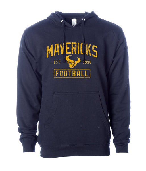 - Hoodie Mavericks Football Est. 1996 : Navy