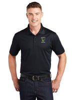 - Polo Sport-Tek Sport Wick Polo-Maverick Football Embroidery / Black