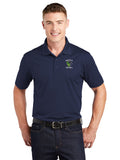 - Polo Sport-Tek Sport Wick Polo-Maverick Football Embroidery / Navy