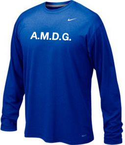*OPTIONAL* Women's Basketball Shooting Shirt AMDG
