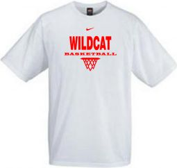 *OPTIONAL* Basketball S/S Cotton Crew (White)