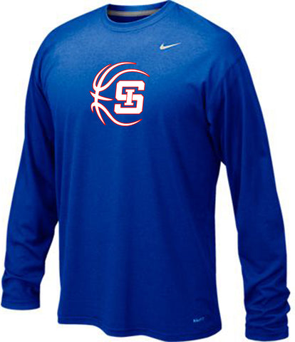 *REQUIRED* Men's Basketball Pregame Shooting Shirt (Royal Blue)