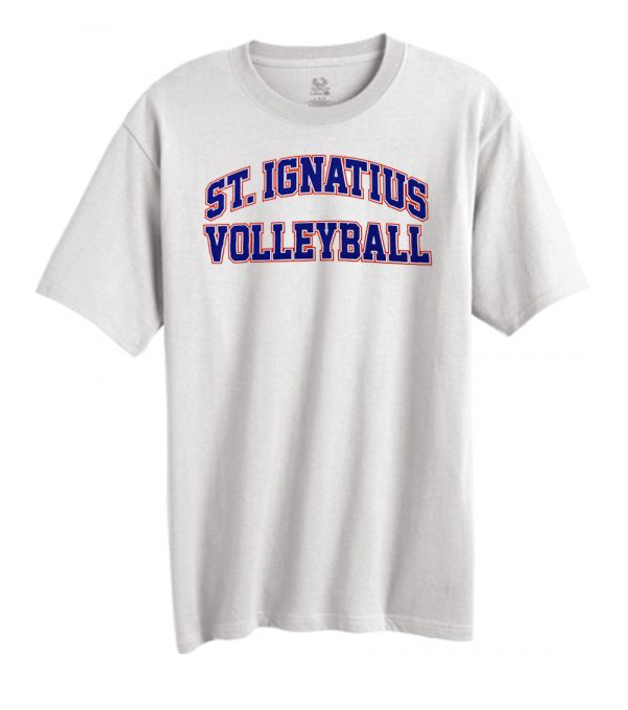 *OPTIONAL* Volleyball Team Nike Cotton Tee (White)