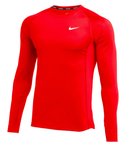 *OPTIONAL* Baseball L/S Fitted Top (Red)