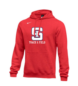 *OPTIONAL* Track & Field Hoodie (Red)