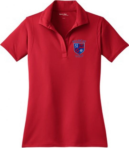 *REQUIRED* Women's Golf Team Polo (Red)