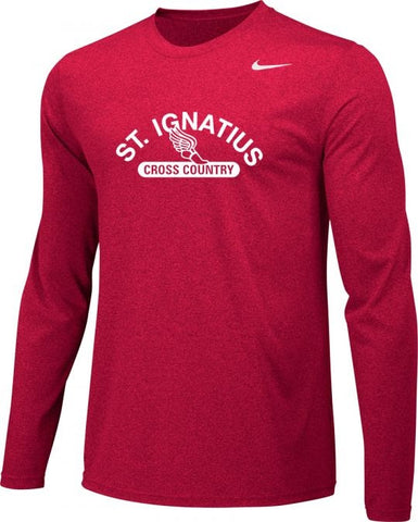 *OPTIONAL* Cross Country L/S Legend Tee (Red)