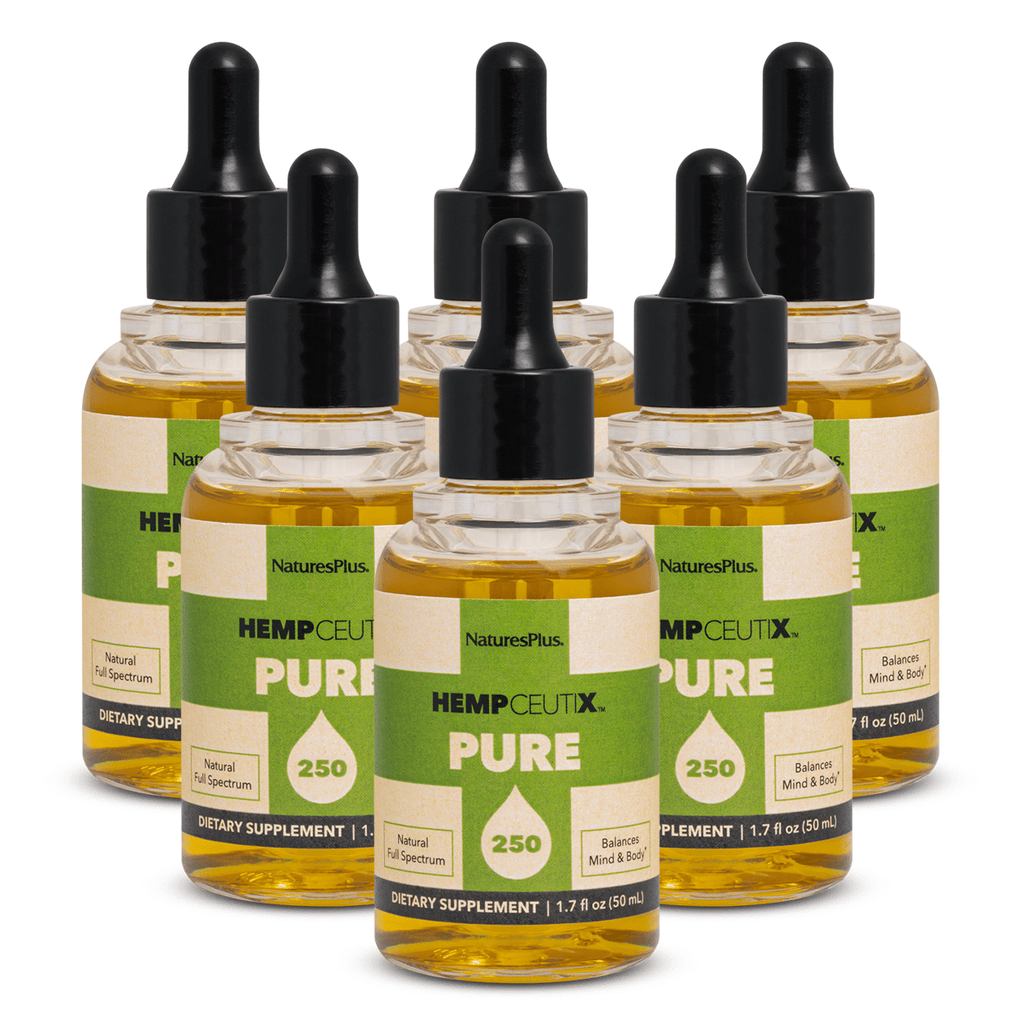 HempCeutix Pure 250 CBD Oil Tincture (6 Pack)