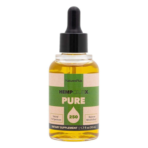 HempCeutix Pure 250 CBD Oil Tincture (6 Pack) Bottle