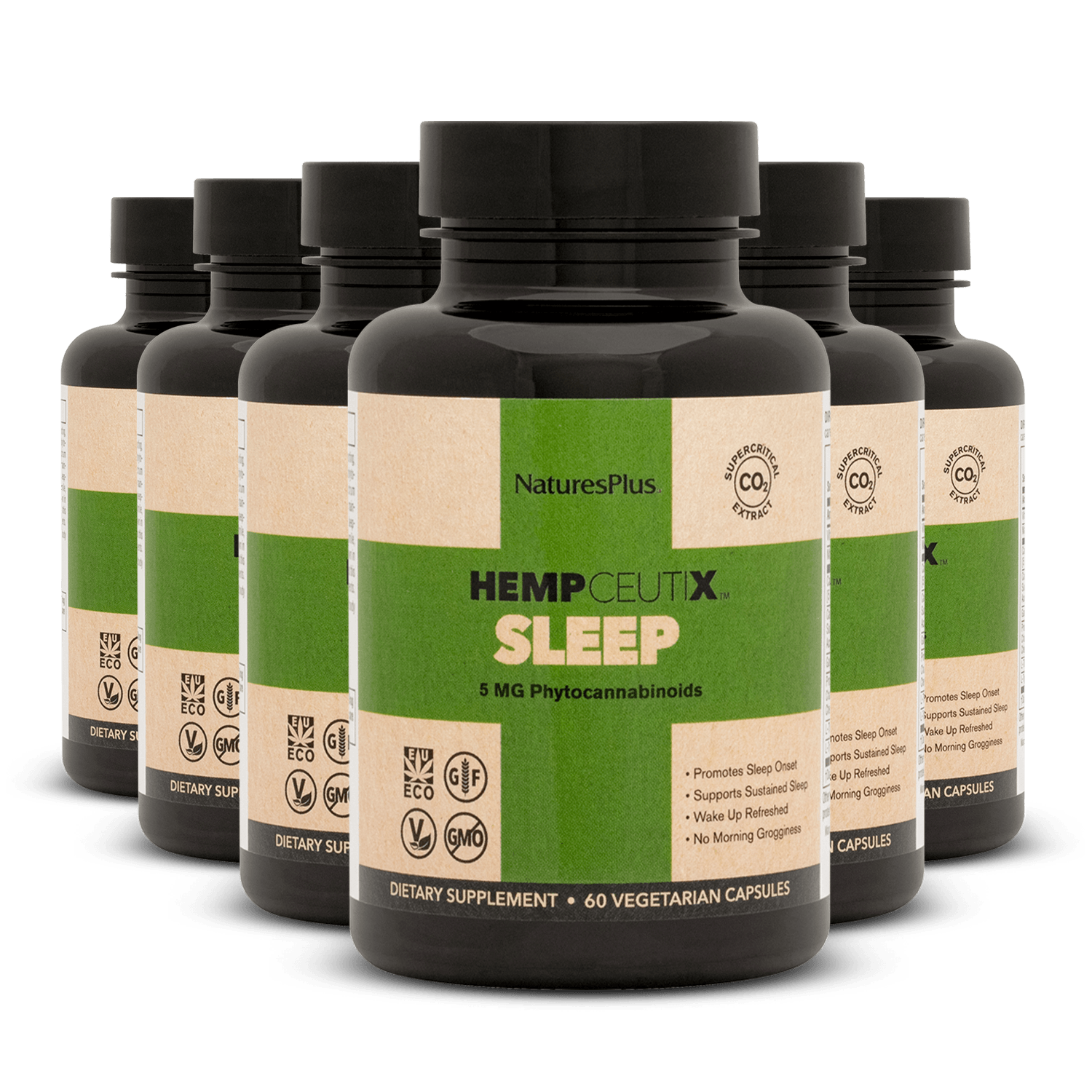 HempCeutix Sleep 5mg CBD Capsules (6 Pack)