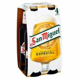 San Miguel Lager 4 x 330ml Pack