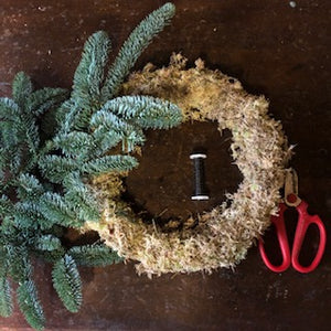 14th December 14 inch DIY wreath Kit