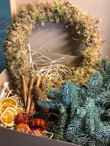 30th November 12 inch DIY wreath Kit