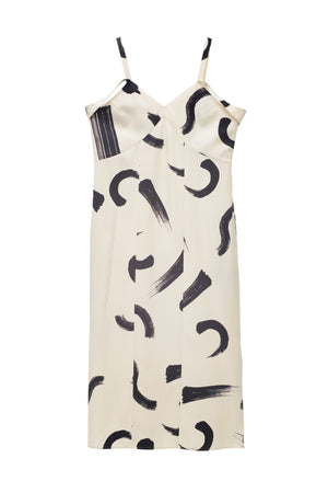 AA-noon brush camisole dress