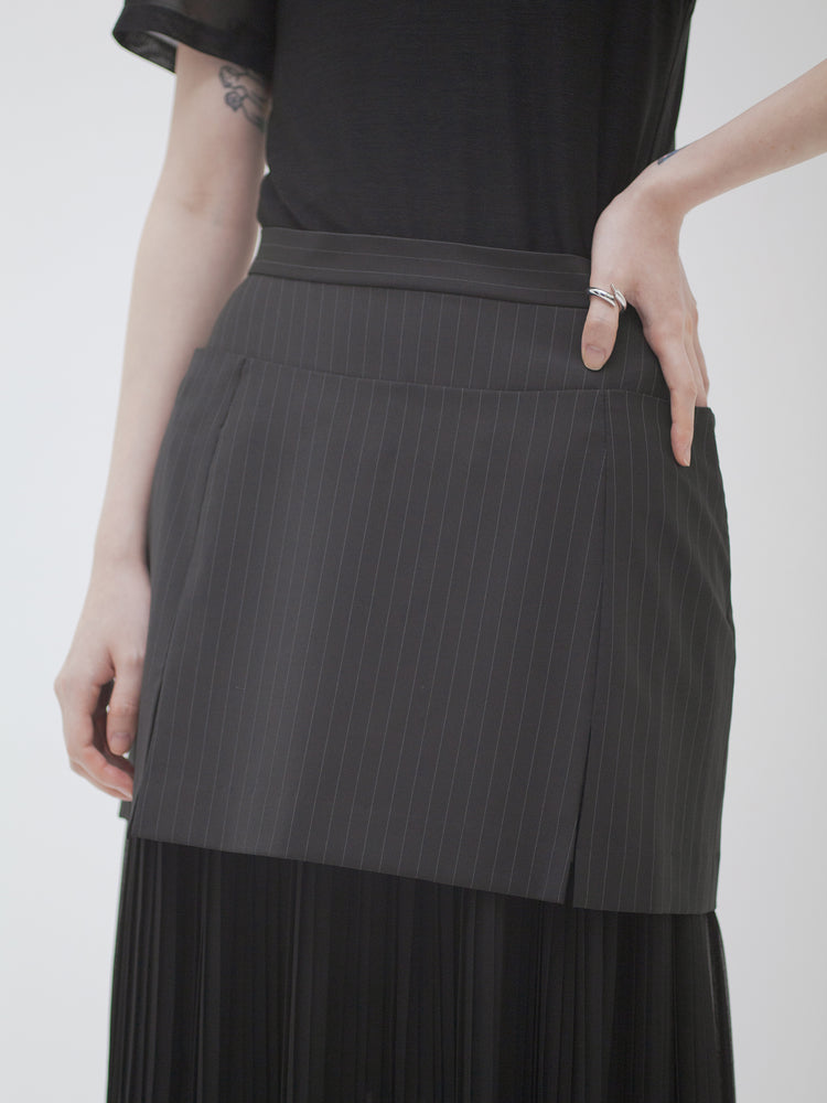 Layered pleats