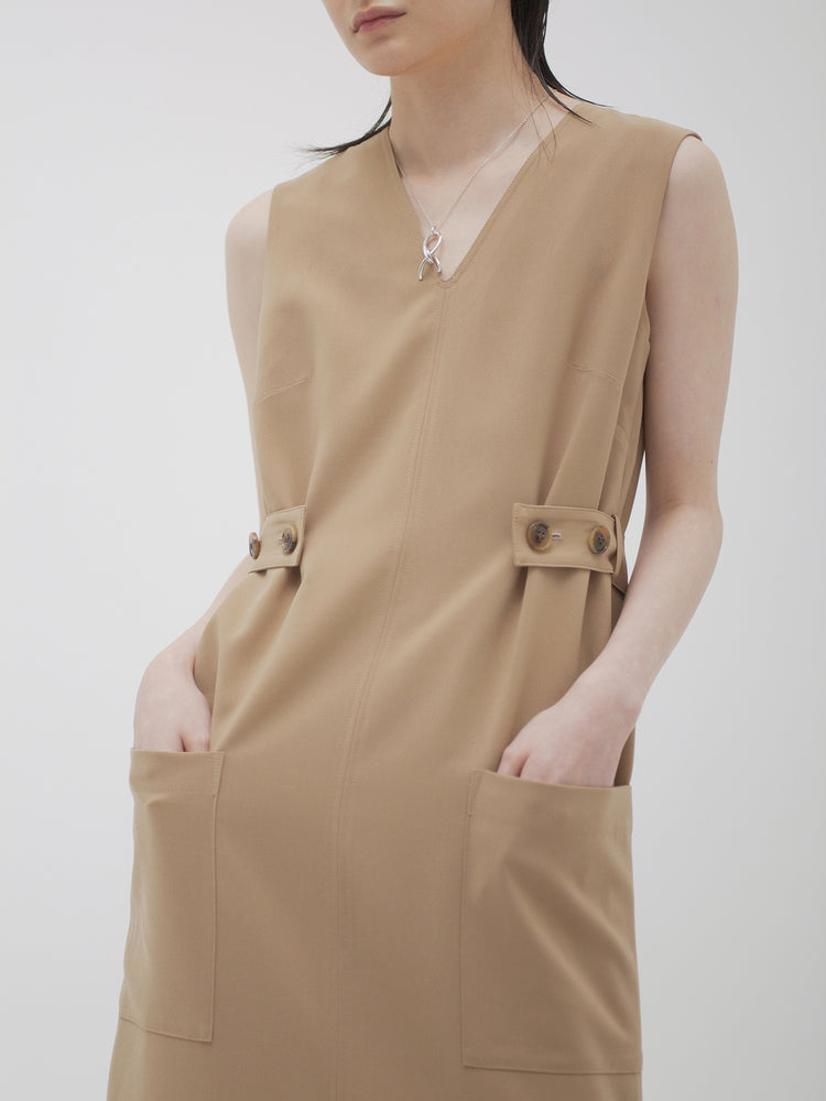 AA-noon V neck dress