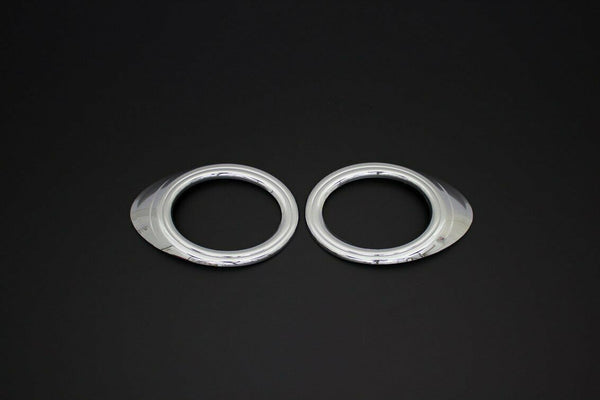 2009-2013 Ford Transit Tourneo Connect Abs Chrome Fog Lamp Rim Cover 2Pcs