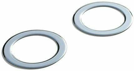Fiat Ducato 2006Up Chrome Fog Lamp Rim Covers 2Pcs S.Steel