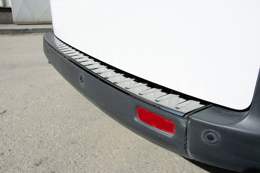 Ford Transit Custom Tourneo Chrome Rear Bumper Protector Guard S.Steel(BLACK)