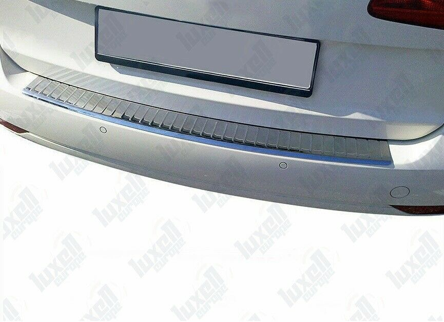VW Touran MK2 1T3 2010-2014 Chrome Rear Bumper Protector Scratch Guard S.Steel