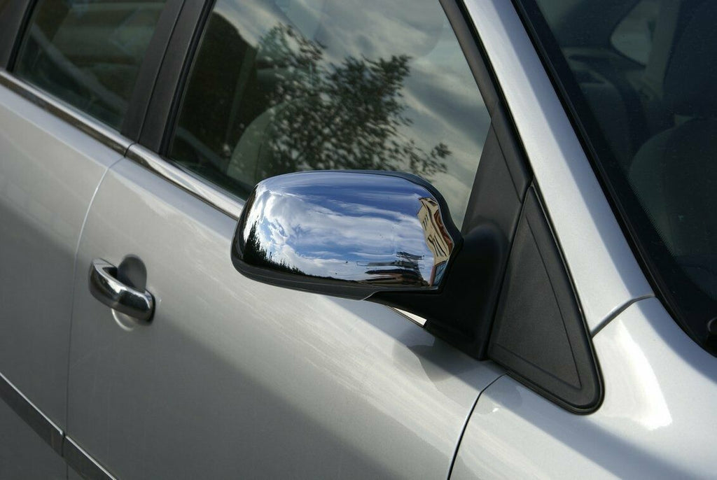 ABS Chrome Wing Mirror Cover Set Fits Focus/Fiesta/C-Max [2004-2008] [Both Sides]